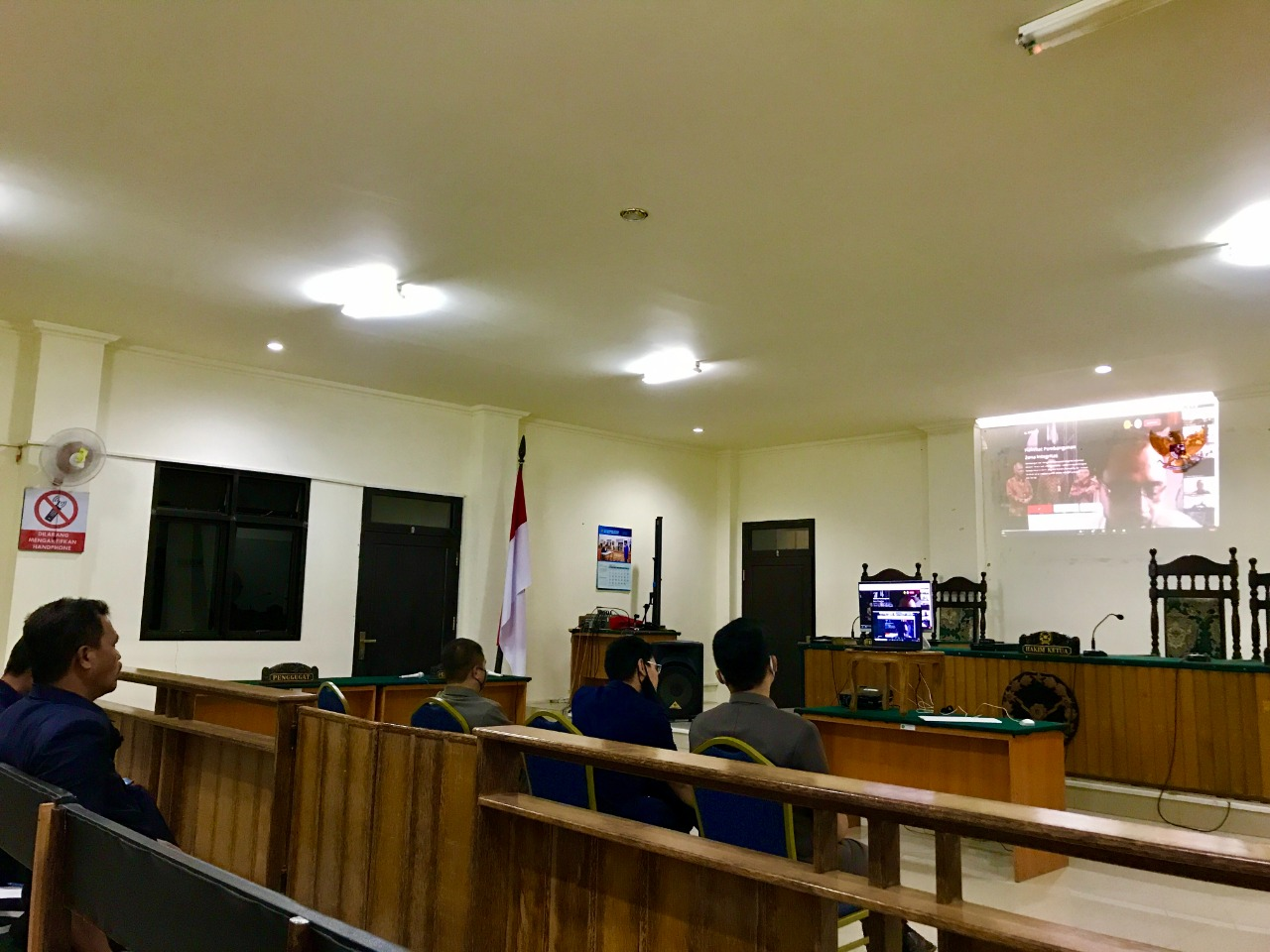 Entry Meeting - Desk Evaluation Penilaian Mandiri PMPZI Menuju Wilayah Bebas dari Korupsi ( WBK ) oleh Badan Pengawas MA