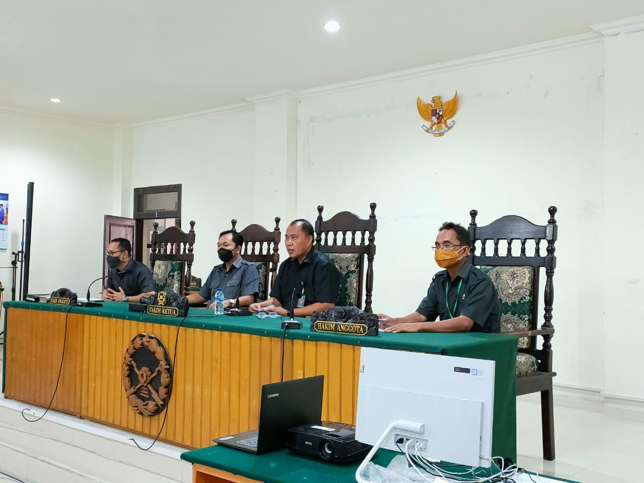Rapat Bulanan Pengadilan Negeri Tahuna