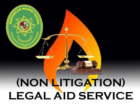Pre Launcing Aplikasi Elektronik Layanan Bantuan Hukum Pengadilan Negeri Tahuna